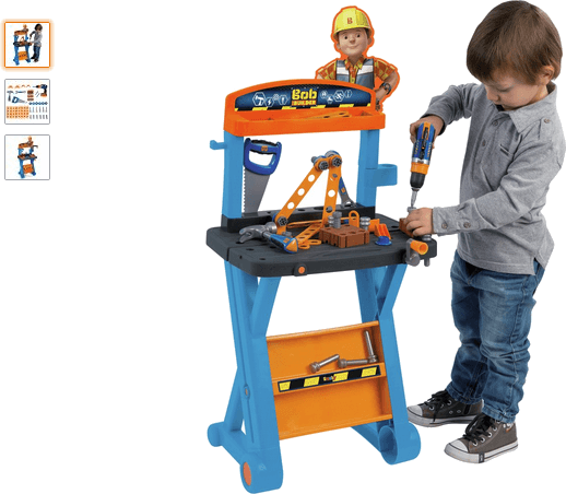 smoby bob the builder my 1st workbench
