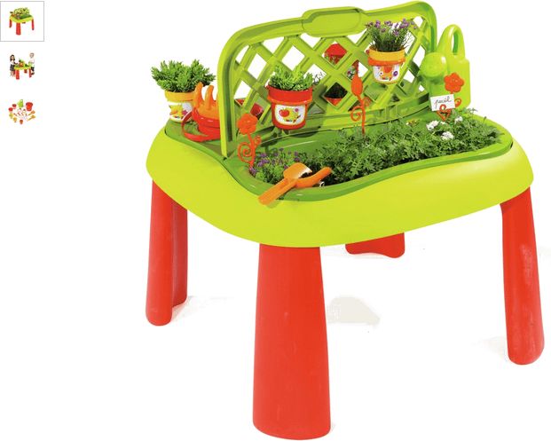 smoby gardening table