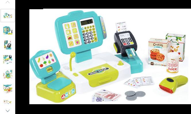 smoby large cash register