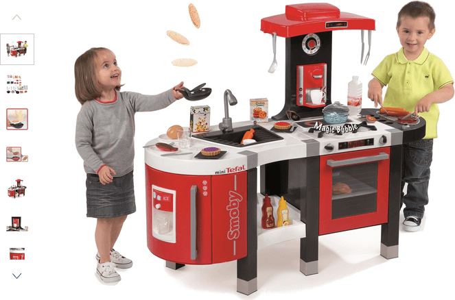 smoby tefal french touch kitchen